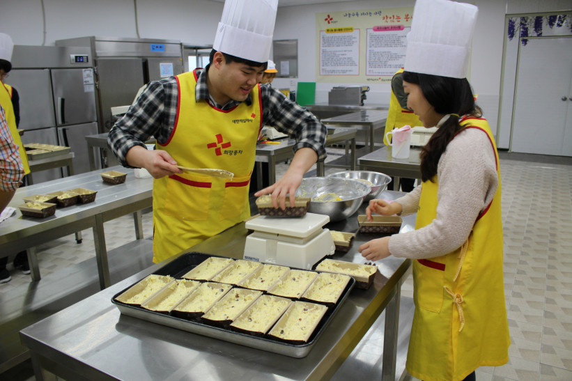 따뜻한 빵으로 전해지는 희망나누기 빵만들기 첫번째사진
